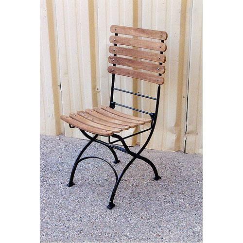 chaise de jardin teckfer forg 507 - Chaise Fer Forge