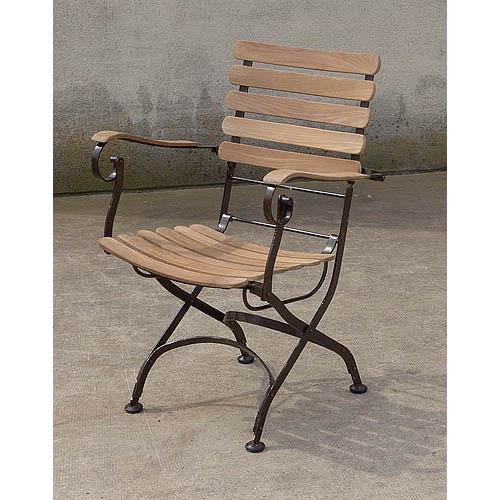 Fauteuil de jardin teck fer forg 510 e cipango home decoration teak furniture in mijas malaga - Deco jardin fer forge toulon ...